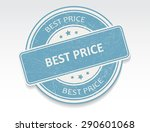 best price grunge rubber stamp... | Shutterstock .eps vector #290601068