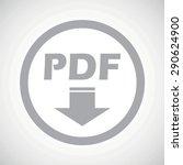 grey text pdf with down arrow...