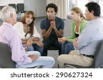 meeting of support group | Shutterstock . vector #290627324