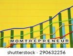 business term with climbing... | Shutterstock . vector #290632256