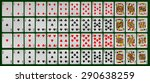 collection of playing cards of...
