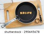 top view of alphabet collage... | Shutterstock . vector #290645678