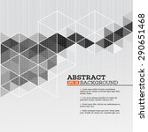 abstract template background... | Shutterstock .eps vector #290651468