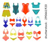 vector fashion collection... | Shutterstock .eps vector #290661920