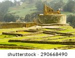 temple of the sun ruins at... | Shutterstock . vector #290668490