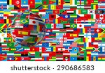 international  3d  global  flag | Shutterstock . vector #290686583