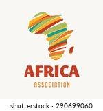 Africa Map Illustration