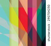 colorful background made of... | Shutterstock .eps vector #290704250