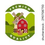 farm fresh design  vector... | Shutterstock .eps vector #290708750