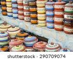 closeup of handmaded decorative ... | Shutterstock . vector #290709074