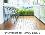 chairs for relax on wooden... | Shutterstock . vector #290713079