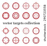 collection of vector simple...   Shutterstock .eps vector #290723558