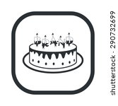 vector illustration of food icon | Shutterstock .eps vector #290732699