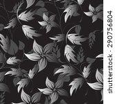seamles vector flower | Shutterstock .eps vector #290756804