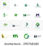 set of new universal company... | Shutterstock .eps vector #290768180