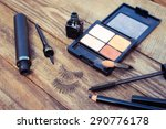 cosmetics for eyes  pencil ...   Shutterstock . vector #290776178