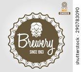 vintage logo  badge  emblem or... | Shutterstock .eps vector #290783090