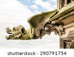 Gargoyle On A Gothic Cathedral...