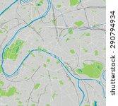 paris vector map generic | Shutterstock .eps vector #290794934