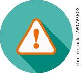 wanrning  sign  warning sign... | Shutterstock .eps vector #290796803