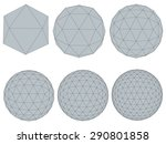 vector illustration set with... | Shutterstock .eps vector #290801858