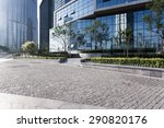 urban building with cement... | Shutterstock . vector #290820176