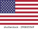 usa american flag 4th july... | Shutterstock .eps vector #290835569