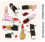 vector illustration with...   Shutterstock .eps vector #290835968