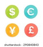 Dollar  Euro  Pound And Yen...