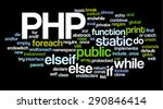 conceptual tag cloud containing ... | Shutterstock .eps vector #290846414