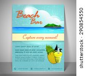 nature view banner for beach... | Shutterstock .eps vector #290854550