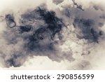 smoke and cloud.artistic... | Shutterstock . vector #290856599