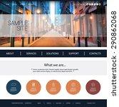 website design for your...   Shutterstock .eps vector #290862068