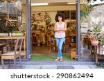 full length shot of a young... | Shutterstock . vector #290862494