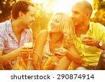 summer weekend concept.... | Shutterstock . vector #290874914