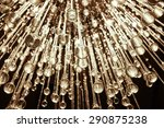 close up of a beautiful crystal ... | Shutterstock . vector #290875238