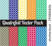 Quatrefoil Vector Pack  ...