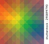 rainbow colored apstract... | Shutterstock .eps vector #290899790