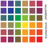 different colors squares on the ...   Shutterstock .eps vector #290899799