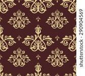 oriental  fine texture with... | Shutterstock . vector #290904569