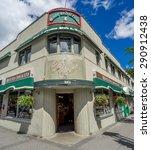 banff  alberta   june 19  banff ... | Shutterstock . vector #290912438