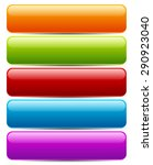 colorful button banner... | Shutterstock .eps vector #290923040