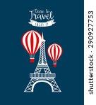 travel concept design  vector...   Shutterstock .eps vector #290927753