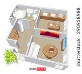 Modern Isometric Cottage...