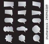 label  vector set  background ... | Shutterstock .eps vector #290943389