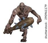 giant monster | Shutterstock . vector #290961179
