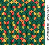 geometric seamless pattern.... | Shutterstock .eps vector #290973794