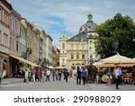 lviv  ukraine   jun 18  2015  ... | Shutterstock . vector #290988029
