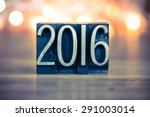 the word 2016 written in... | Shutterstock . vector #291003014