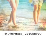 brasil  fit  girl. | Shutterstock . vector #291008990